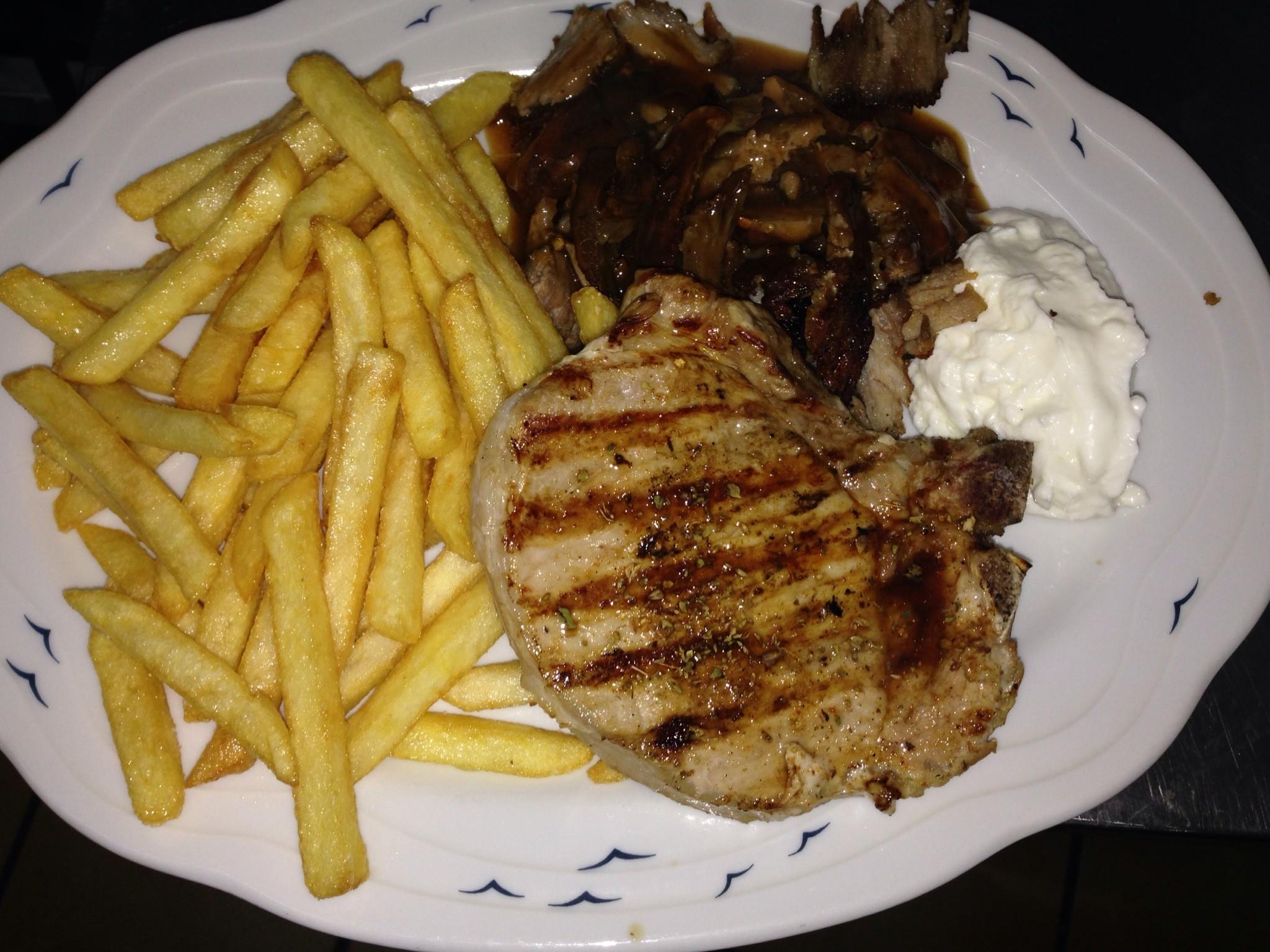 Delphi Restaurant Menu